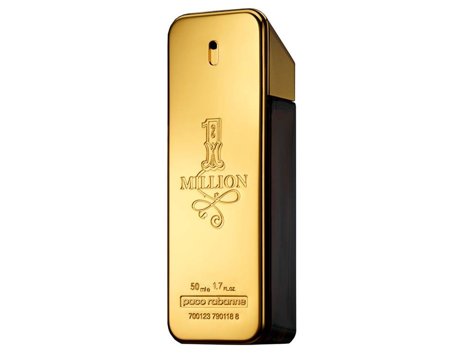 1 Million  Uomo by Paco Rabanne EDT  NO BOX 100 ML.